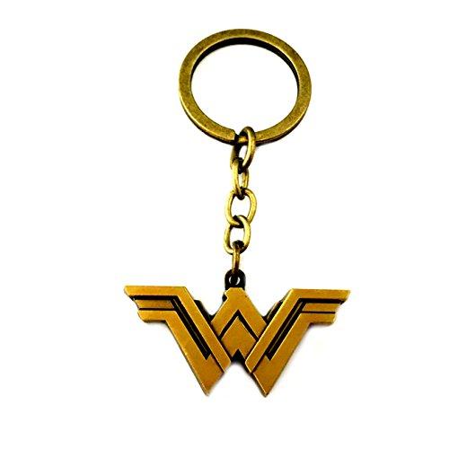 (Wonder Woman Keychain Key Ring DC Comics Movies Auto/Boat House Keys)