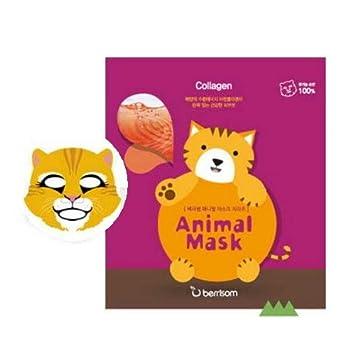 BERRISOM Animal Mask Series Cat Electric Eye Wrinkle & Eye Massager Wand Heated Vibration Wrinkle Eraser