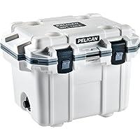Pelican Elite 30 Quart Cooler (White/Gray)