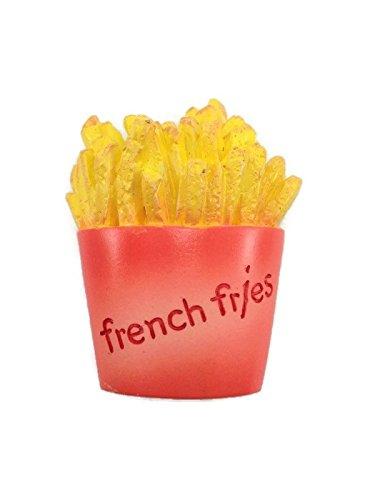 Miniature Food Snack French Friesトイお土産コレクション3d冷蔵庫冷蔵庫マグネットHand Made樹脂   B01KS168FG