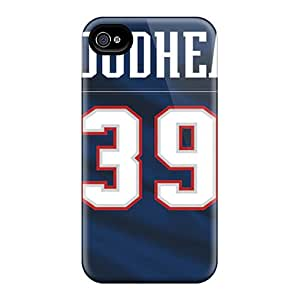 Best Hard Cell-phone Case For Iphone 6plus With Support Your Personal Customized Realistic New England Patriots Pattern IanJoeyPatricia