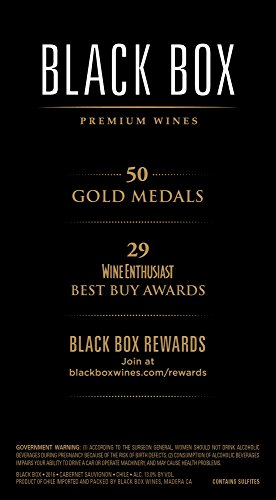 Large Product Image of Black Box Cabernet Sauvignon Red Wine, 3 L box