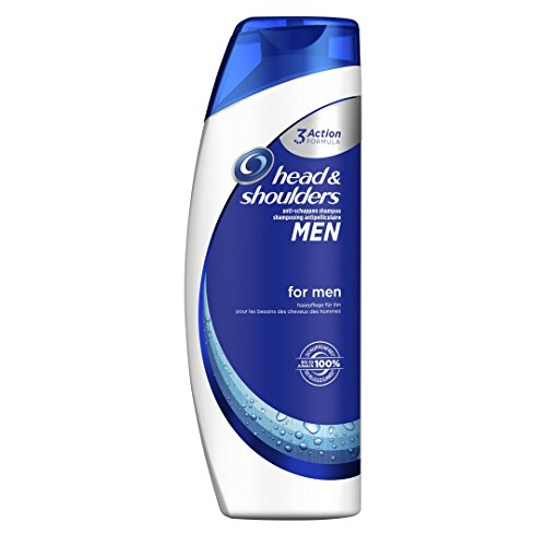 Head & Shoulders For Men Anti-Schuppen Shampoo, 6er Pack (6 x 500 ml)