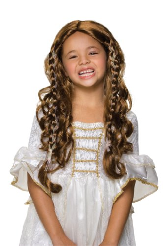 Rubie's Fairy Tale Princess Child's Costume Wig, -