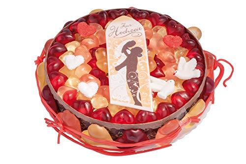 Hochzeitstorte Fruchtgummi Torte Zur Hochzeit Herzen Fruchtgummi