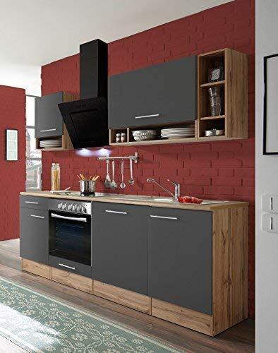 RESPEKTA Cucinino cucina BLOCCO cucina cucina incasso 220 cm ...