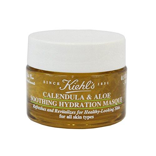 Calendula & Aloe Soothing Hydration Mask 14 ml. (Masque Soothing Gel Kiehls)