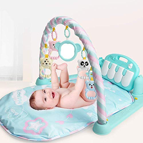 Kids Childern Piano Fitness Rack Piano Music Blanket Play Early Education Plastic Baby Toys for Intellectual Development