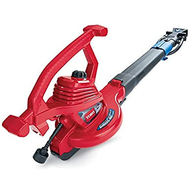 Toro 51621 UltraPlus Leaf Blower Vacuum, Variable-Speed (up to 250 mph) with Metal Impeller, 12 amp (Certified Refurbished)