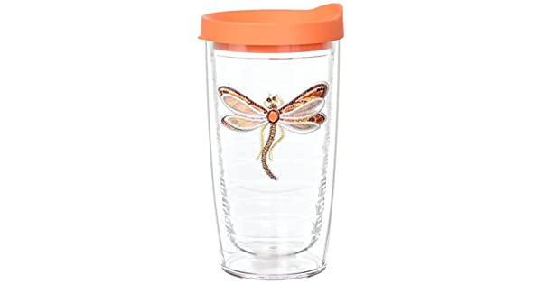 Shimmer Layered Orange Dragonfly Tervis Tumbler Company 1137039 Tervis Tumbler 16-Ounce