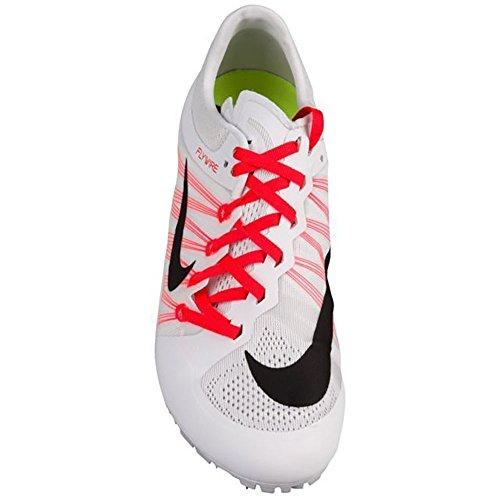 Nike Zoom Ja Mouche Piste Pointes Chaussures Hommes Taille 8 (blanc, Rouge Solaire, Noir)