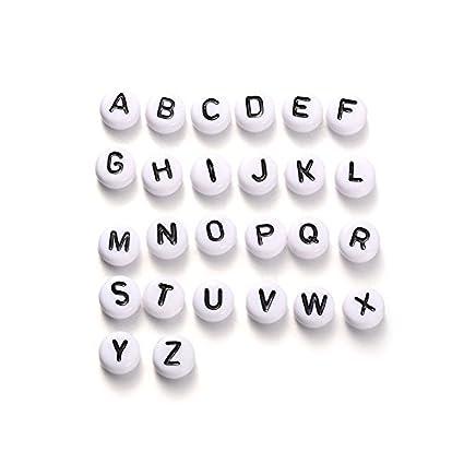 Amazon Com Pandahall 520pcs 20sets A Z Alphabet Acrylic