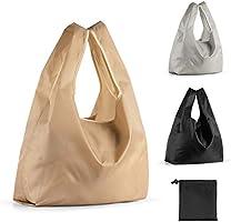 【3枚セット】エコバッグ コンビニバッグ 折りたたみ 買い物バッグ 大容量 防水素材 軽量 買い物袋 ショッピングバッグ コンパクト 収納 水や汚れにも強い