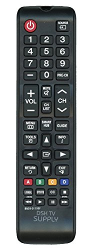 Replacement BN59-01199F Remote Control for Samsung LCD/ LED TV's