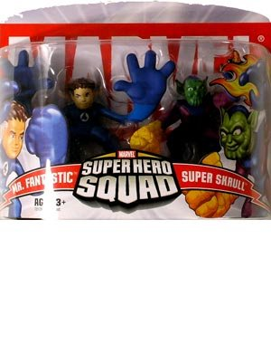 Marvel Super Hero Squad Mr Fantastic /& Super Skrull
