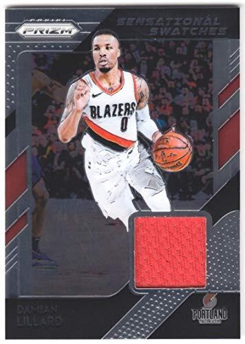 Damian Lillard 2018-19 Panini Prizm Sensational Swatches JSY #6 NM-MT MEM Blazers Basketball NBA from Prizm