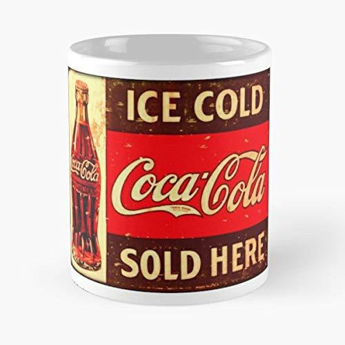 Cocacola - Ceramic Novelty Mugs 11 Oz, Funny Gift