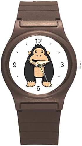 Kidozooo Boys Girls Cartoon Gorilla Wild Animal 1 3/8