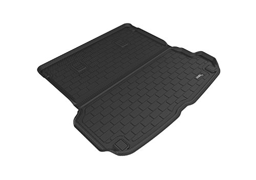 (3D MAXpider Custom Fit All-Weather Cargo Liner for Select Audi Q7 Models - Kagu Rubber (Black))