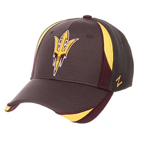 ZHATS NCAA Arizona State Sun Devils Adult Men Torque, Medium/Large, Charcoal ()