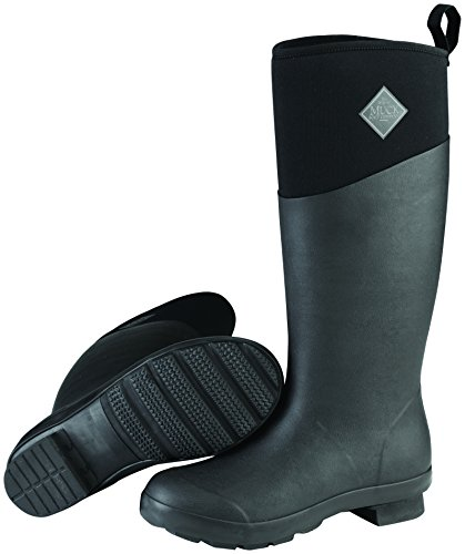 Fashion Cold Weather Boots - Muck Tremont Wellie Tall Rubber Women's Cold Weather Boots