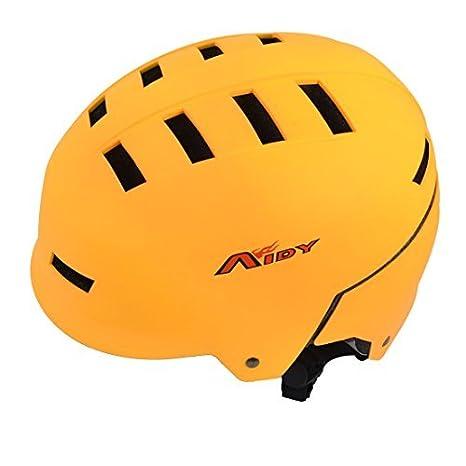 eDealMax ahueca hacia fuera el diseño de la seguridad de PVC Para Bicicleta Casco de 23