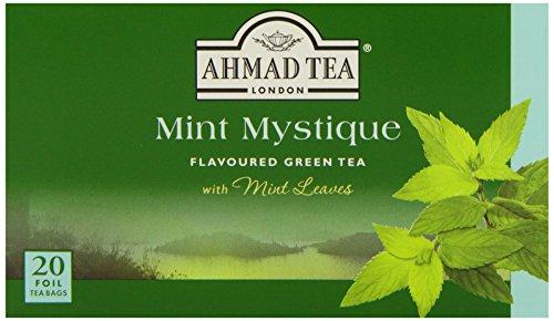 - Ahmad Tea - Mint Mystique Flavoured Green Tea 20 Bags - 40g