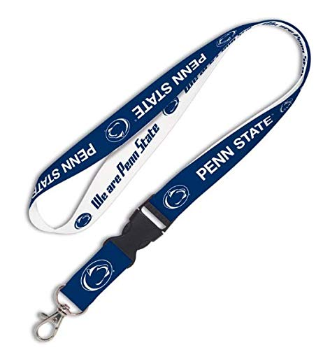 Solid Rock Penn State Nittany Lions NCAA Lanyard with Detachable Buckle