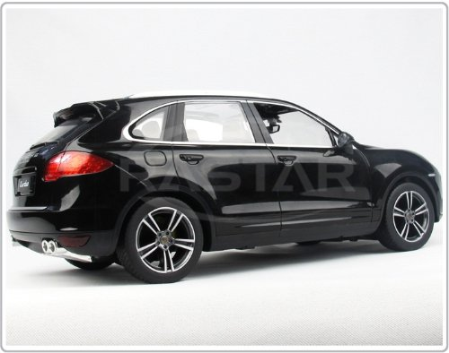 Amazon.com: Rastar 1: 14 Porsche Cayenne Turbo Rc Car Black Color: Toys & Games