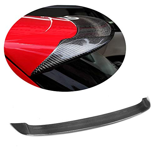 MCARCAR KIT Rear Spoiler fits Volkswagen VW Golf 6 VI MK6 GTI R20 3Door 5Door Hatchback 2010-2013 Customized Carbon Fiber CF Roof Window Top Wing Lip