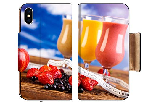 MSD Apple iPhone XS Flip Pu Wallet Case Image ID 35419011 Protein Shakes Sport and Fitness