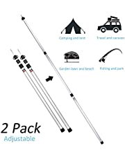 Aotlet camping accessories caravan awnings telescopic pole