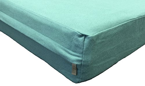 Petbed4less Heavy Duty Green Canvas Pet Bed Dog Bed Zipper Cover Small, Medium to Super Large - 8 sizes - Replacement Zipper Cover only by PetBed4Less