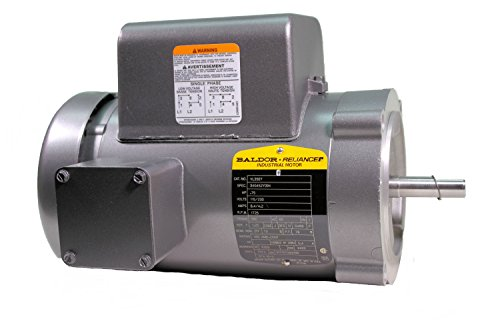 (Baldor VL3507 General Purpose AC Motor, Single Phase, 56C Frame, TEFC Enclosure, 3/4Hp Output, 1725rpm, 60Hz, 115/230V Voltage)