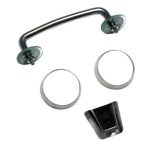 Rugged Ridge 11101.05 Stainless Windshield Tie Down Kit