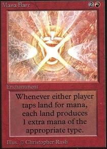 Magic: the Gathering - Mana Flare - Unlimited
