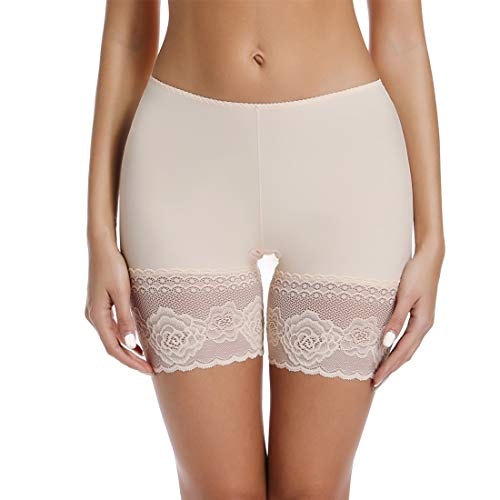 Seamless Boyshorts Panties for Women Anti Chafing Underwear Shorts Smooth Slip Short Panty - Smooth Shorts