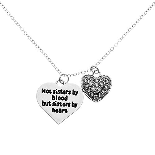 Infinity Collection Best Friends Necklace- Not Sisters