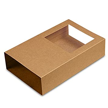 Amazon.com: Cartón 9 x 5 – 1/4 x 2 KRT 1/2 WDW Macaron caja ...