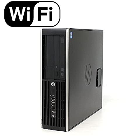HP Compaq 6300 Pro Desktop PC - Intel Core i5-3470 3 2GHz 4GB 250GB DVDRW  Windows 10 Pro (Renewed)