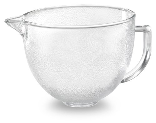 kitchenaid 5 quart glass bowl - 6