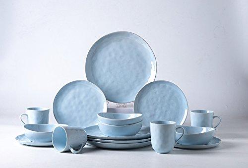 Pangu 16-Piece Porcelain Dinnerware Sets, MINIMALISM, Handma