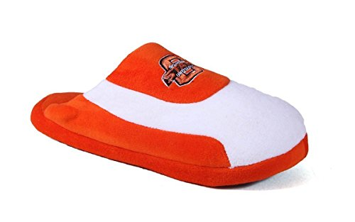 Oklahoma Slippers Cowboys Mens Low OFFICIALLY College LICENSED Happy Feet Womens State Pro and NCAA ASxUPqv