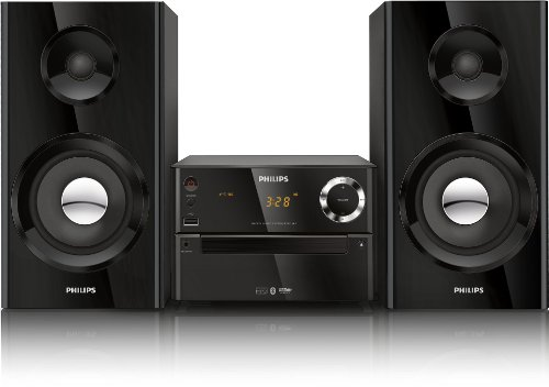Philips BTM2180/37 Micro Music System (Black) (Discontinued by Manufacturer) (Micro Home Music System compare prices)