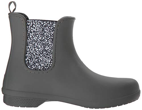 Femme slate Gris Bottes Chelsea Freesail dots Boot Women Crocs Grey wTOCnXqgwx