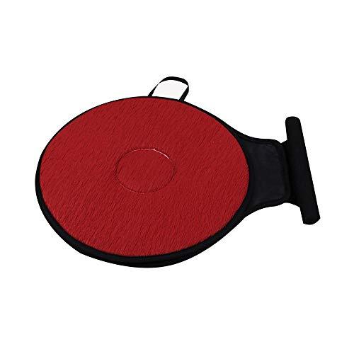 Lesgos Car Rotating Seat Swivel Car Cushion Non-Slip Auto Car Mat Round Disc 360° Rotary Chair Pads Breathable Base Revolving Washable Lightweight Flexible Thin Mobility Aid, 5 Color,40 (Diameter) cm