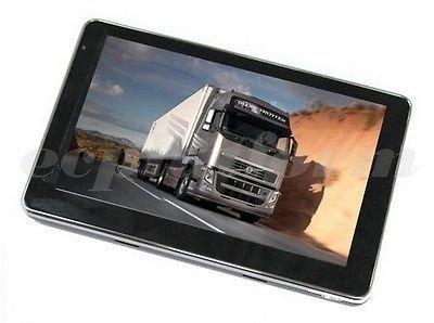 Nuevo 10,92 cm GPS para camiones, coche, autobús, SpeedCam, gratis maps update, peligrosas, no pulgadas, ...