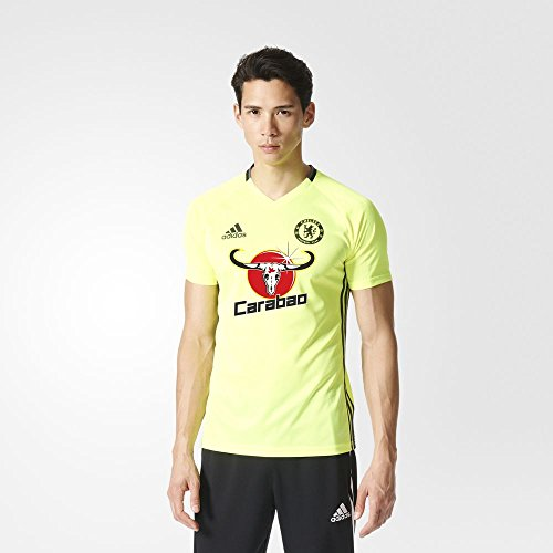 Adidas Chelsea FC Training Jersey-SYELLO (X-Large) Solar Yellow