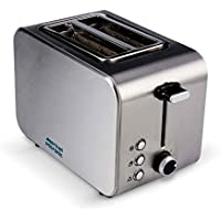 American Micronic AMI-TSS1-85Dx- 2-Slice Imported Stainless Steel Pop-up Toaster