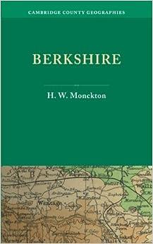 Book Berkshire (Cambridge County Geographies)